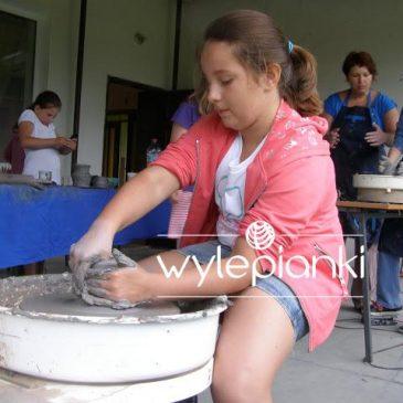 Warsztaty ceramiczne w Żdżarach.