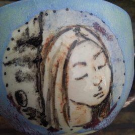 Wielki kubek ceramiczny 400ml pojemności
