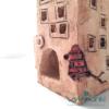 domek ceramiczny wylepianki handmade