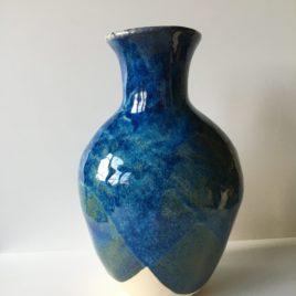 Duży wazon Classic Blue